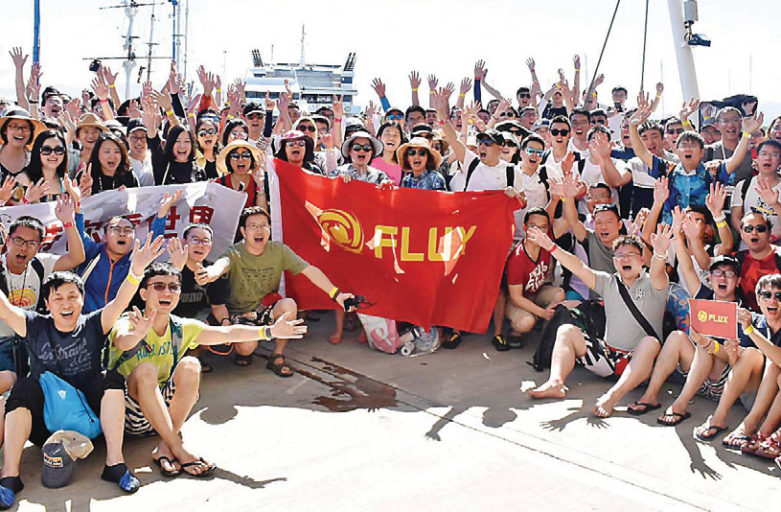 South Sea Cruises welcomes first Chinese Group