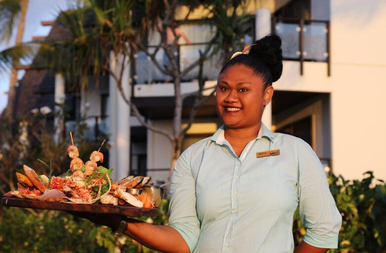 Signature Dining with Eseta Leweniqila at the Radisson Blu Resort Fiji, Denarau Island